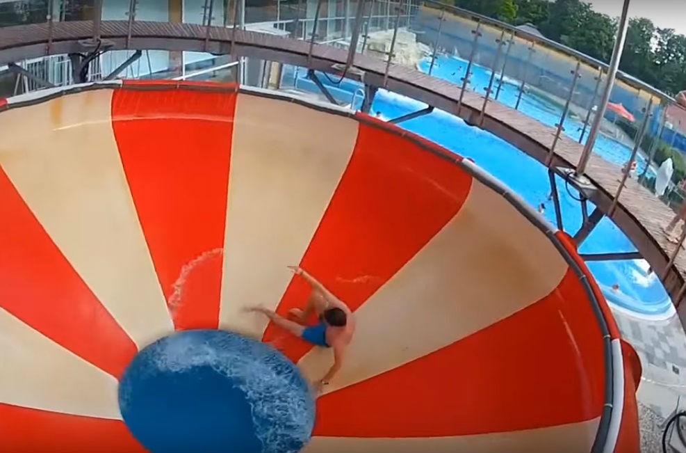 Aquapark Wrocław kamerą GoPro