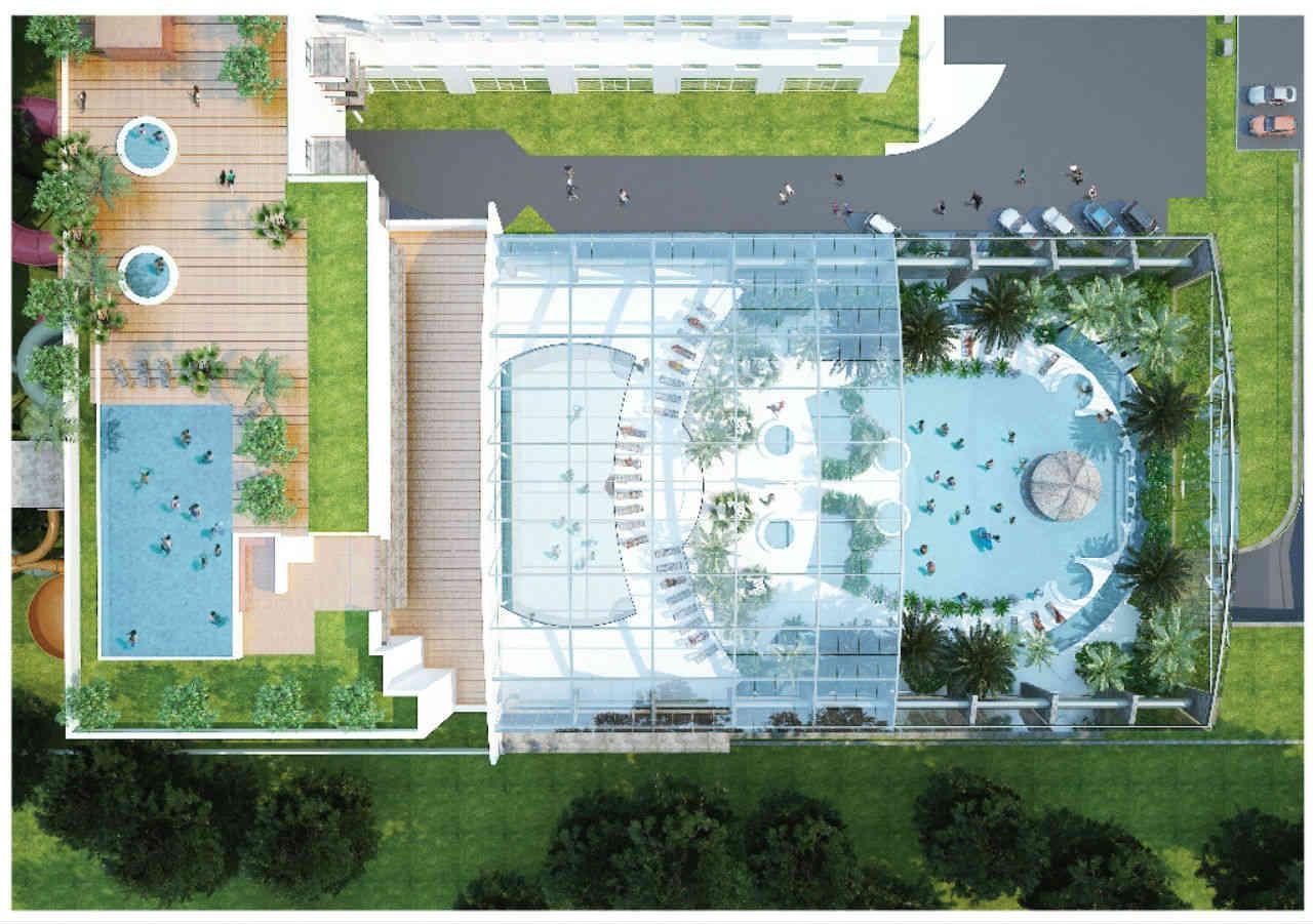 dach dach Baseny Tropikalne Binkowski Resort