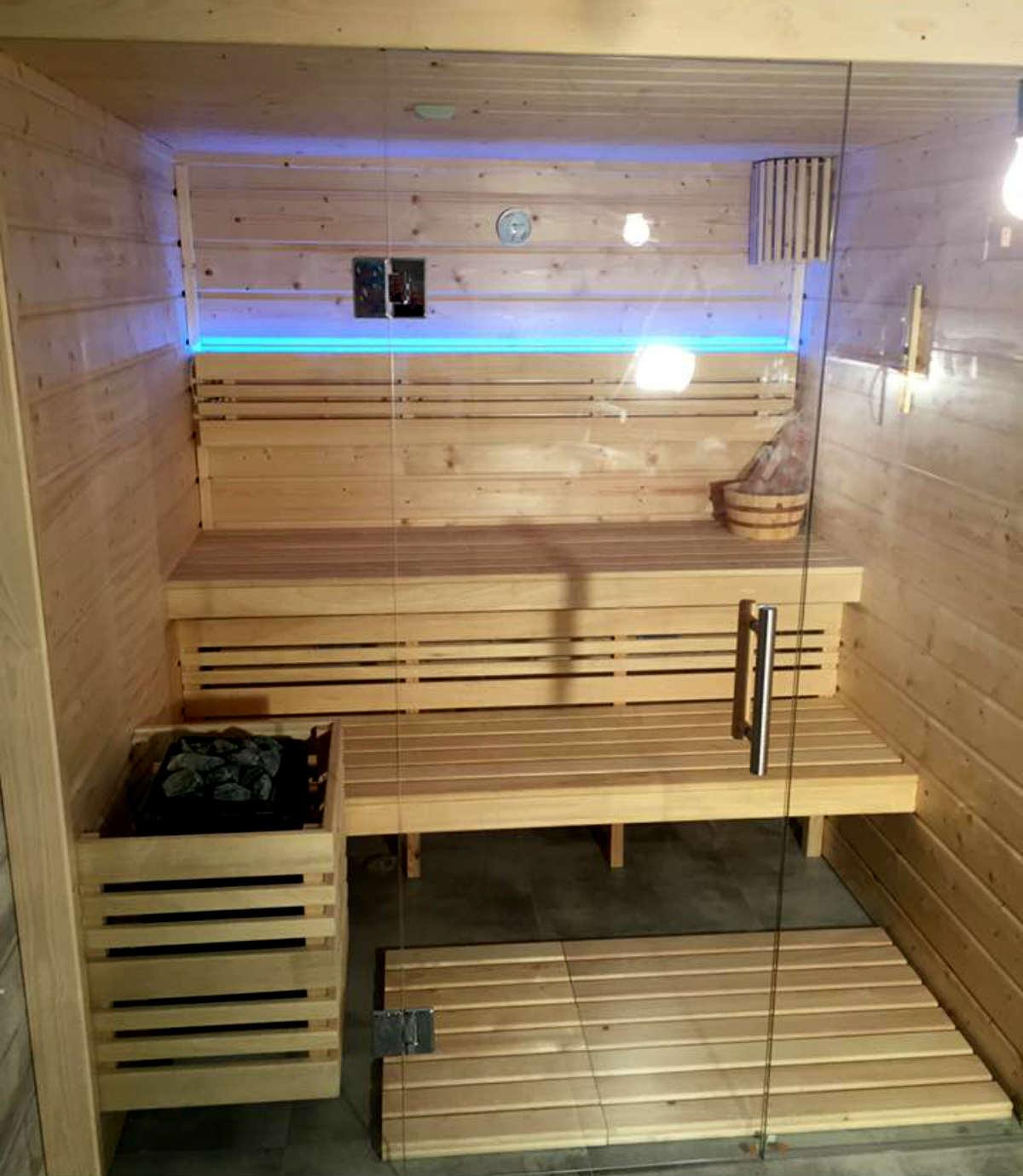 sauna gotowa finska Golden Saunas