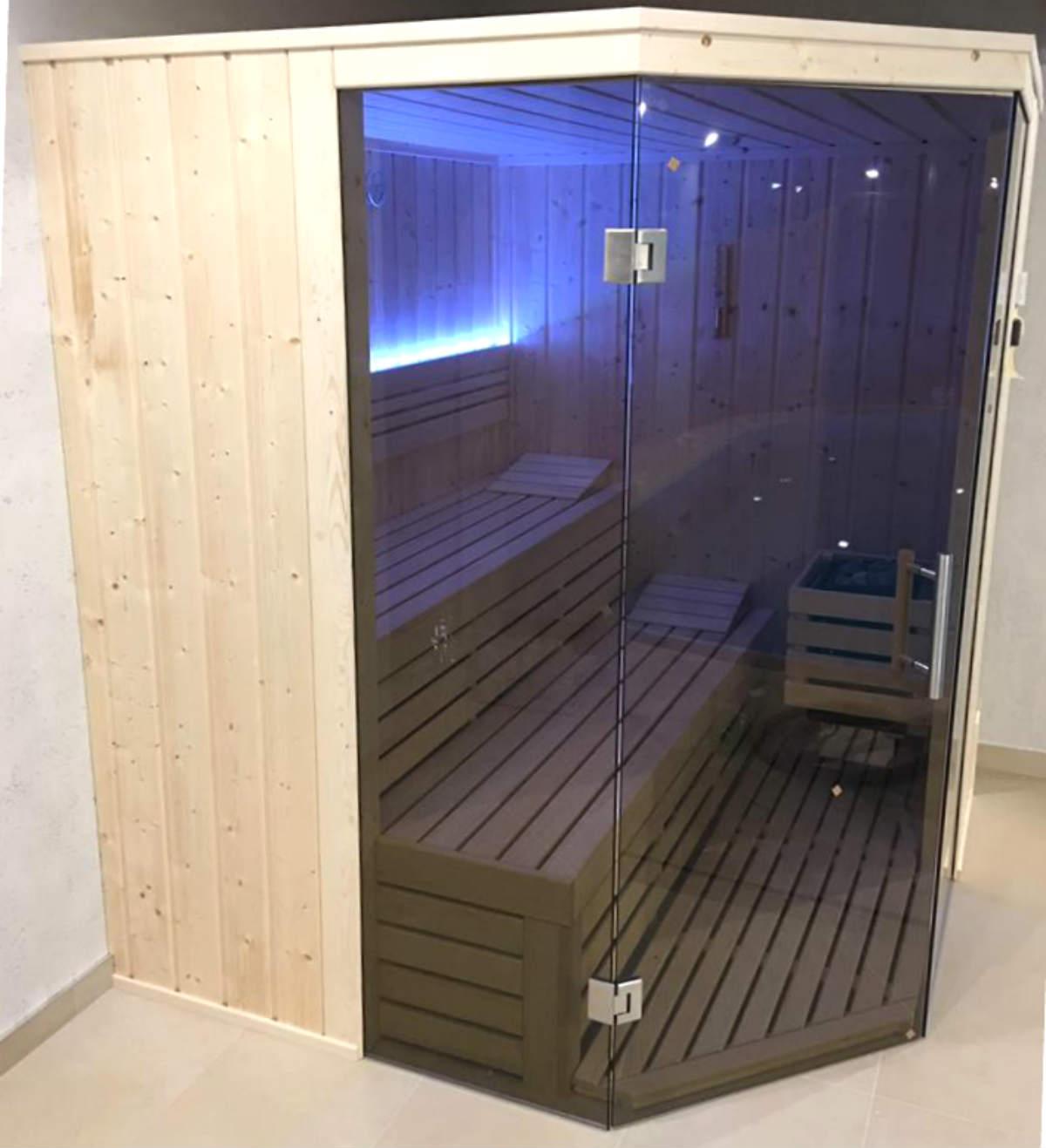 Sauna fińska sauna gotowa