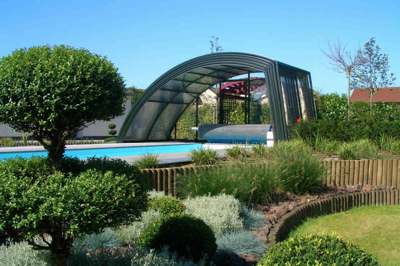 Zadaszenie basenu zsunięte - producent Alukov
