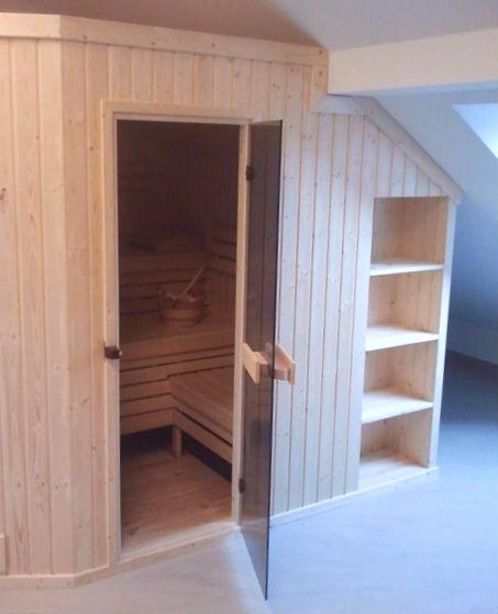 Sauna na poddaszu - Sauna PBN