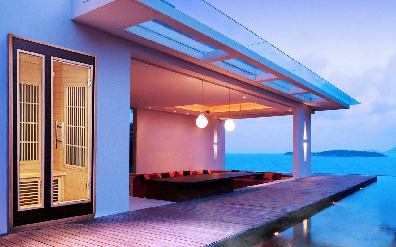 Harvia sauna realizacja_