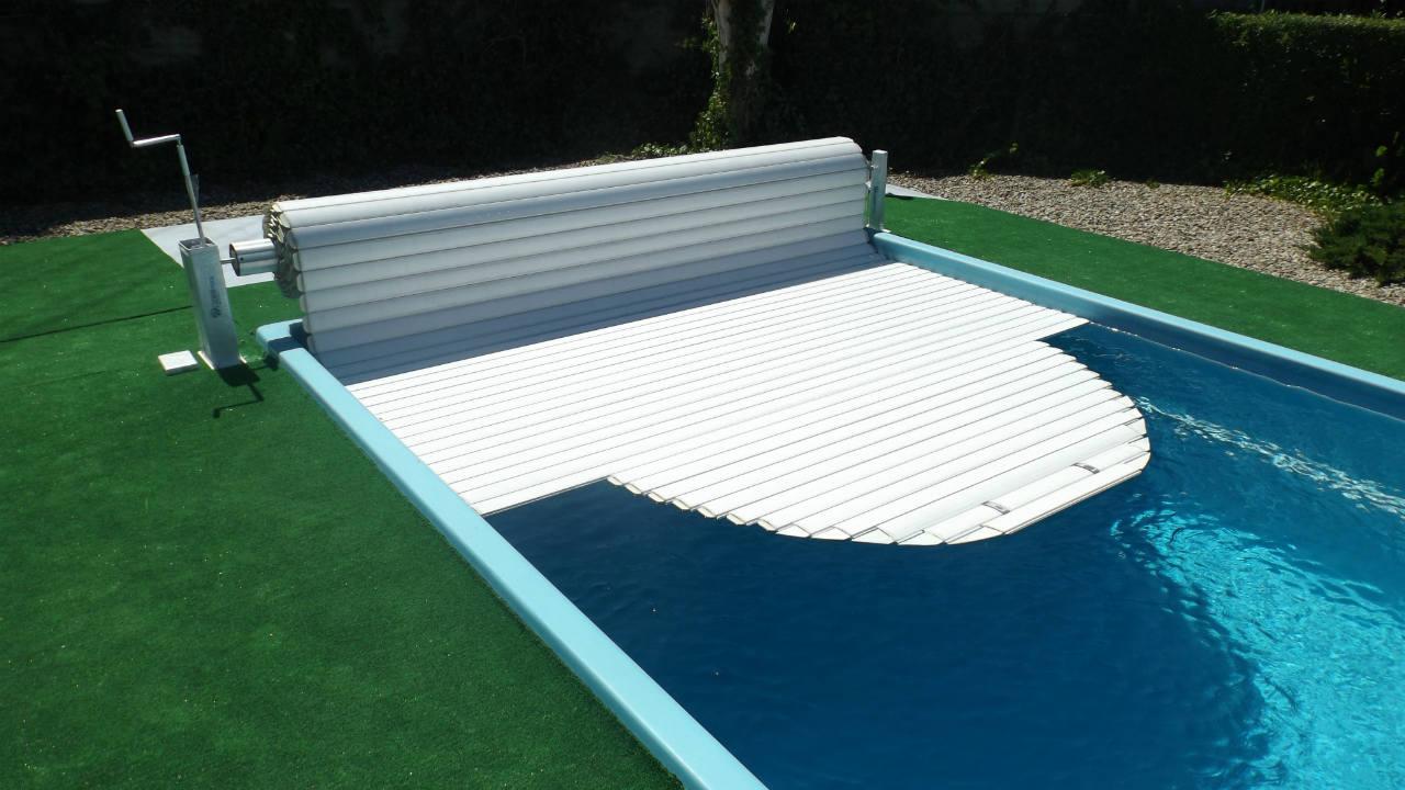Przykrycia basenowe - roleta basenowa Liderpool