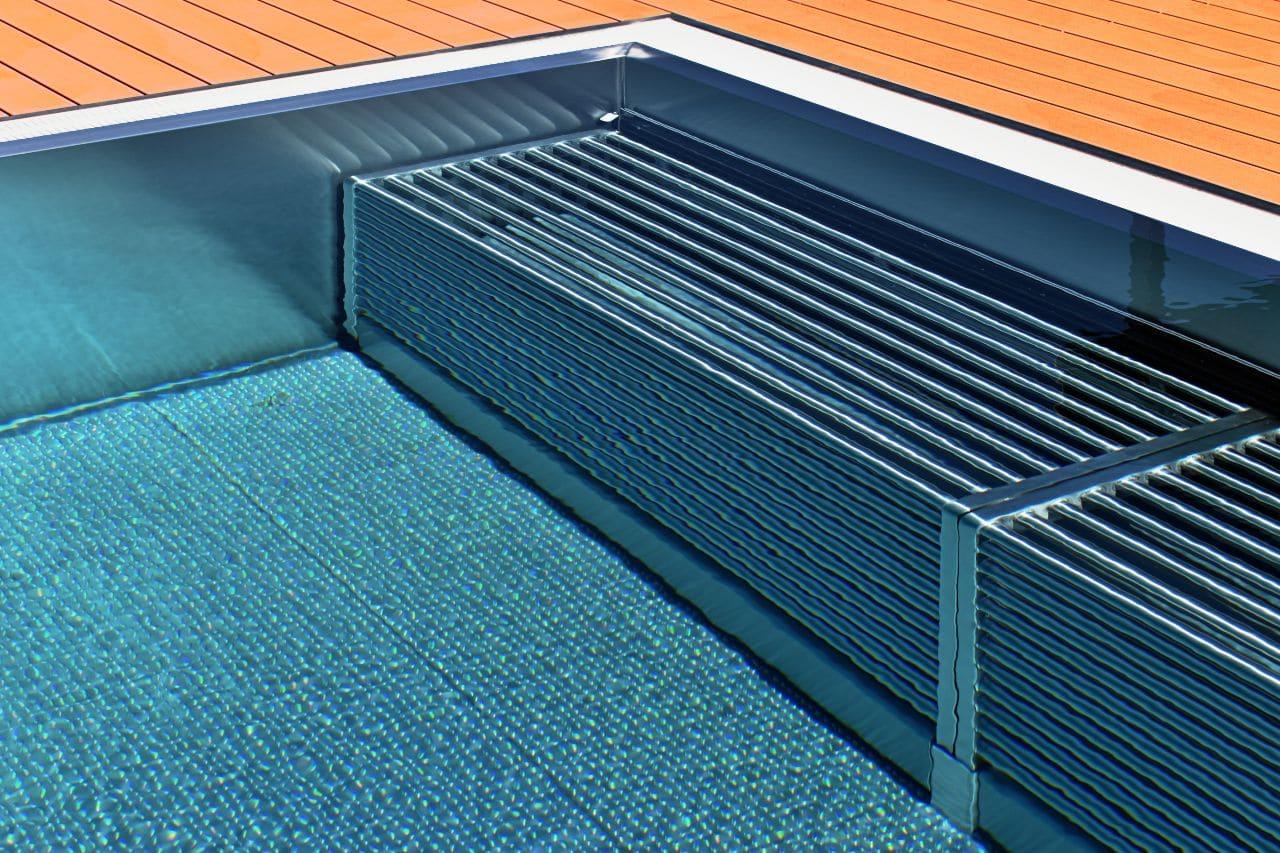 leżanki do basenów stalowych