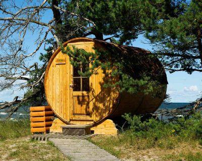 Domki – sauny, czyli domki saunowe do ogrodu i na działkę